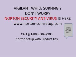 Run antivirus Norton Setup with Product Key call @1-888-504-2905