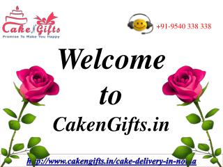 Online Cake Delivery in Noida via CakenGifts.in