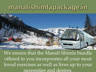 Manali Shimla Package - Manali Shimla Package With Volvo - manalishimlapackage.in