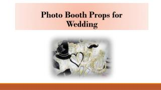 Photo Booth Props for Wedding