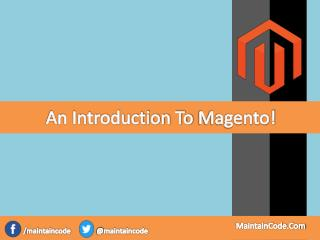 An Introduction To Magento