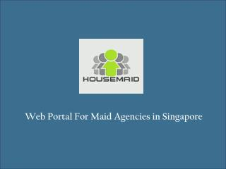 Online Maid Information Singapore