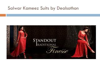 At dealsothon Salwar Kameez Suits with diffrent style