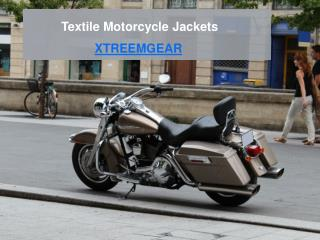 Browse Textile Motorcycle Jackets