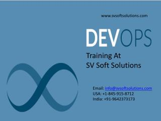 Devops Online Training | USA | UK | Canada | India