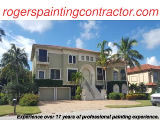Commercial & Residential, Interior & Exterior Painting Contractor and Painter Sanibel Island & Fort Meyers FL