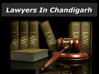 Lawyers in Chandigarh