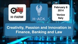 Creativity, Passion and Innovation in Finance, Banking and Law