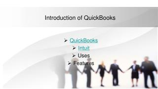 Introduction of QuickBooks