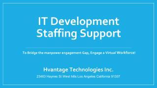 IT Development Staffing Solutions