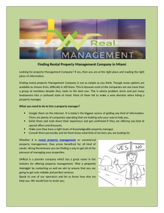 Know How To Preserve Your Property Through Property Management