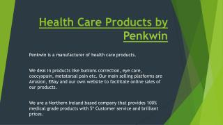 Health Care Products by Penkwin
