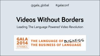 Videos Without Borders