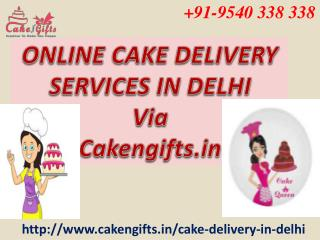 Online cake delivery services
