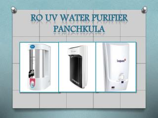 get ro uv water purifier Panchkula