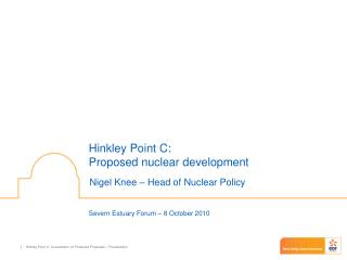 Hinkley Point C: Proposed nuclear development