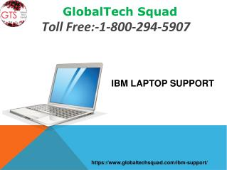IBM Laptop Support | GlobalTech Squad