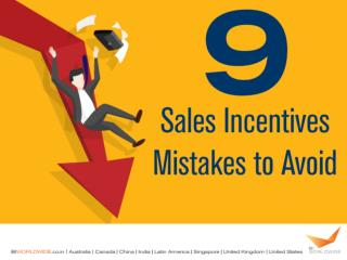 Sales Incentives Mistakes to Avoid | BI WORLDWIDE