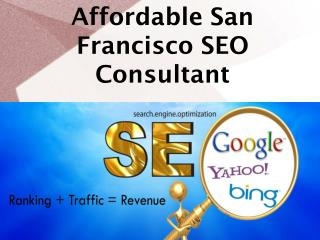 Affordable San Francisco SEO Consultant