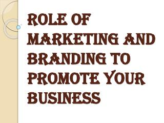 Promote Your Business with Marketing and Branding Tools