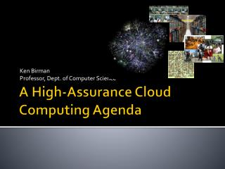 A High-Assurance Cloud Computing Agenda