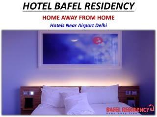 Luxury Hotels in New Delhi near Airport