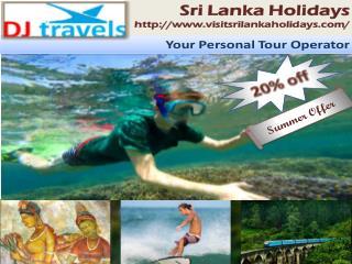 Sri Lanka Tourism - Packages & Accommodation