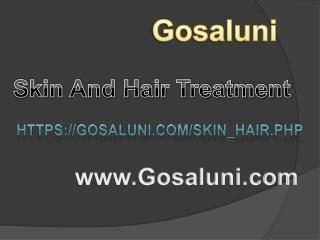 Skin and Hair Treatment Clinic Services in Hyderabad
