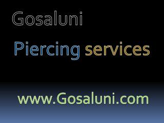 Ear | Nose | Body Navel Piercing Artist, Salon Services in hyderabad