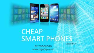 Cheap Smartphones