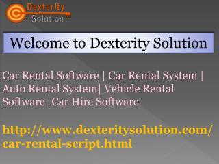 Car Rental Software | Car Rental System | Auto Rental System | Vehicle Rental Software| Car Hire Software