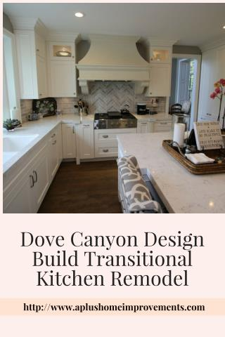 Dove Canyon Design Build Kitchen Remodel