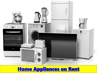 Home Appliances on Rent in gurgaon in Summer Season