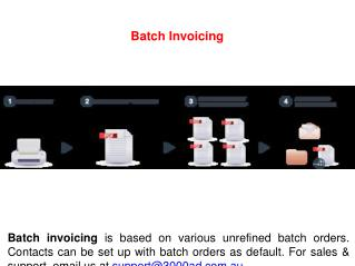 Batch Invoicing
