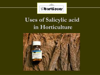 Uses of Salicylic acid  in Horticulture
