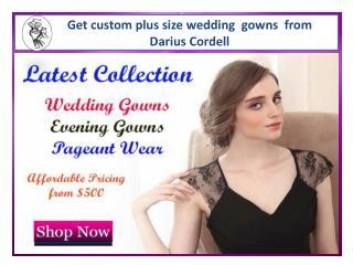 Buy Darius Cordell unique dresses for special occasions