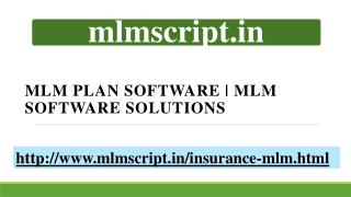MLM Plan Software | MLM Software Solutions