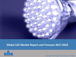 LED Market | Share, Size, Trends and Industry Report 2017-2022