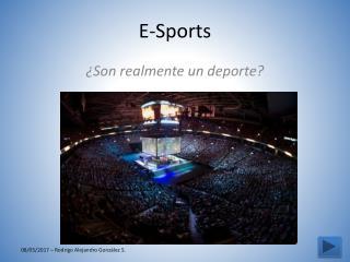 Los e-sports