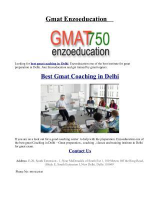 Best Gmat Coaching in Delhi