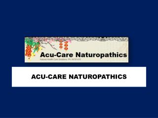 Acupuncture Clinics offering Reliable Acupuncture Services