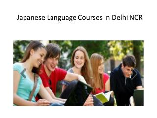 Enroll Now For Japanese Language Courses In Delhi NCR