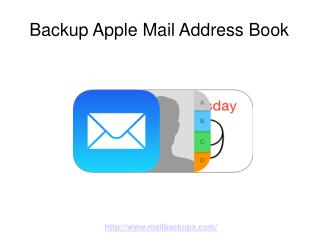 Backup Apple Mail Address Book