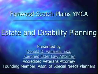 Estate and Disability Planning