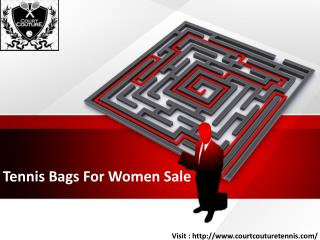 Tennis Bags For Women Sale