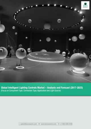 Global Intelligent Lighting Controls Market Research Report 2017-2023