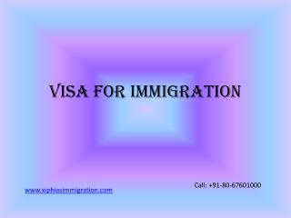 immigration services for USA