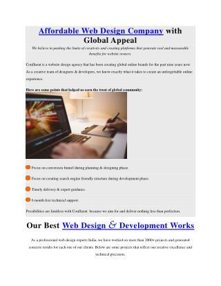Affordable Web Design & Web Development