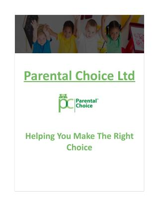 Parental Choice Ltd - Child care provider