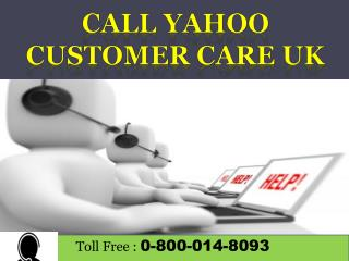 Yahoo Contact Number to Reset Password